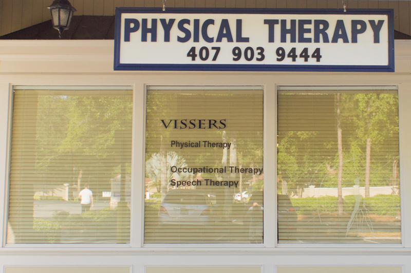 Vissers Physical Therapy Office Exterior